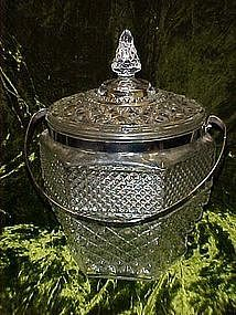 Anchor Hocking Wexford Ice bucket with lid