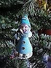 Felt paper santa elf, chennile arms
