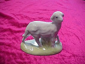 Sheep figurine from Nativity/creche, Atlantic mold