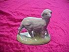 Sheep figurine from Nativity/creche, Atlantic mold