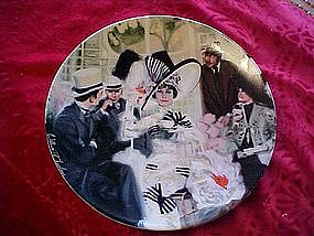Opening Day at Ascot, collector plate from My Fair Lady