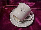 Pfaltzgraff Heirloom pattern, cup and saucer