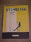 Sheet music, Stumbling, Deco art cover by SK ,1941