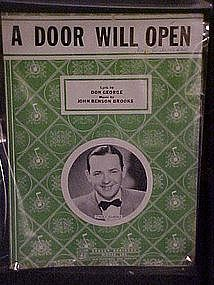 A Door will open, by Don George & John Benson Brooks
