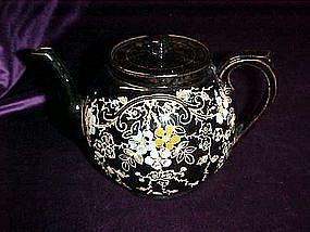 Hand painted Chatsworth English teapot
