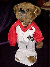 Nick,from the 70's, 20th century Brass button bear