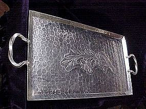 Henry & Miller Large Aluminum serving tray