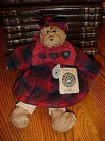 Clara, Boyd's Bear, Artisian series, Mint with all tags