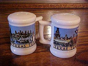 Texas souvenir salt and pepper shakers