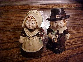 Hallmark cards, Pilgrims salt & pepper shakers