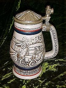 Avon antique cars, transportation  stein,  1979