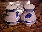 Hand painted salt and pepper shakers