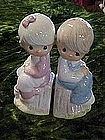 Enesco Precious moments, salt and pepper shakers