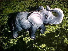 Vintage ceramic elephant figurine