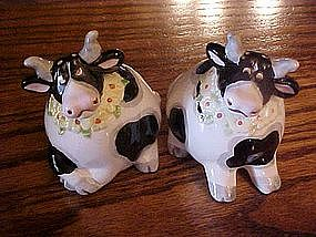 Silly cow, salt and pepper shakers by Omnibus