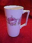 Old Dresden Roses tall cup
