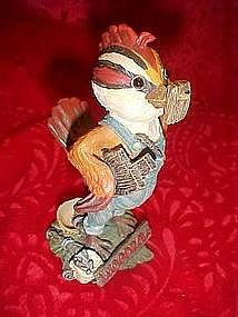 "Tweetie Town figurine ""Woodrow"" the handyman"