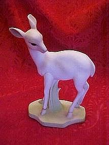 Josef Originals bisque deer figurine, George Good