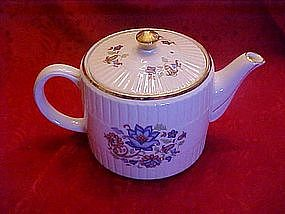 Ellgreave  Floral decorated teapot, England