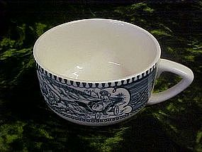 Royal china, currier and Ives cup