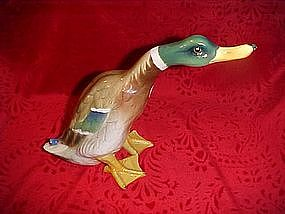 Awesome vintage mallard duck figurine