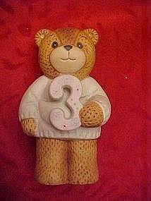 Lucy Riggs Enesco Birthday bear, 3