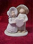 "Homco,Circle of friends figurine, ""I Love Jesus"""