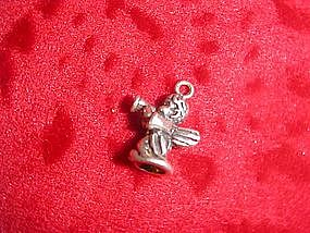Sterling silver angel charm for bracelet