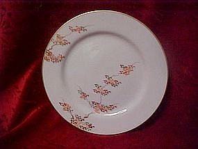 Fukagawa Arita china dinner plate, Maple patttern 505