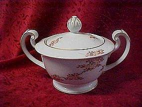 Fukagawa Arita , sugar bowl  w/lid, Maple pattern #505