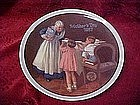 Norman Rockwell plate, Grandma's Surprize 1987