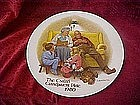 "The Cstari Grandparent plate 1980, ""The bedtime story"""