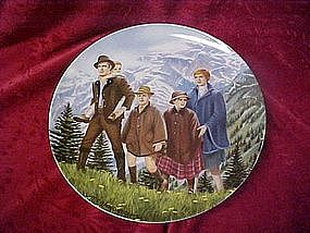 "Climb ev'ry mountain plate, from ""The sound of music"""