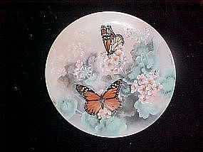 "Monarch Butterflies by Lena Liu, ""On gossamer Wings"""