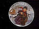 Christmas Courtship, Rockwell's Christmas 1982 plate