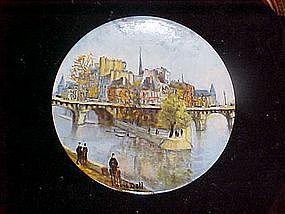 La Pointe Du Vert Galant Et Le Pont Neuf, Louis dali