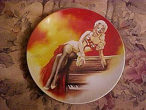 Marilyn Monroe in River of no Return, collector plate