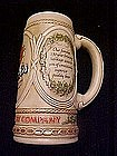 Stroh's Ceramarte Exclusive beer stein, mis-spelled