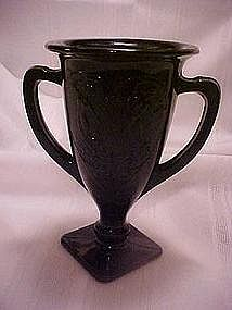 Le Smith Dancing Nymph trophy cup vase, Amethyst
