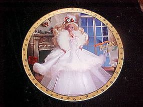Happy Holidays Barbie 1989, collectors plate