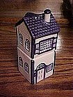 Two story Victorian house salt and pepper shakers