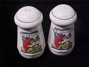 Souvenir shakers from New Orleans, Louisiana