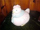 Chubby little hen, cookie jar