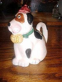 Saint bernard ,dog creamer