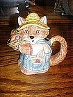 Otagiri Country kitten, or fox, cream pitcher