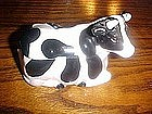 Holstien cow  sugar bowl