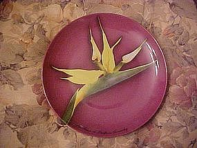 Givenchy Les Fleurs bird of paradise plate