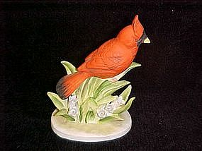 Lefton cardinal head up figurine
