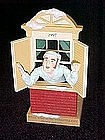 Hallmark 1997 ornament Away to the window QXC5135