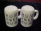 Large Hone Sweet home, salt and pepper shakers